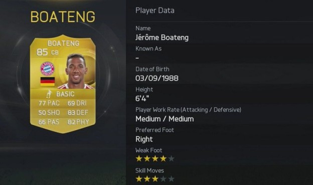 Boateng © Electronic Arts