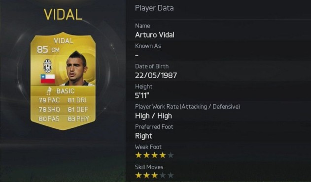 Vidal © Electronic Arts