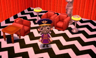 Animal Crossing: Twin Peaks © Nintendo