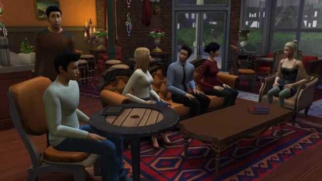 Die Sims 4: Café Central Perk © Electronic Arts