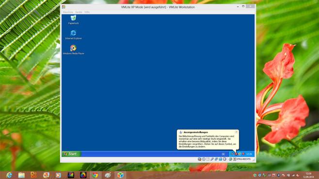Alte Programme laufen nicht: XP-Modus ©COMPUTER BILD