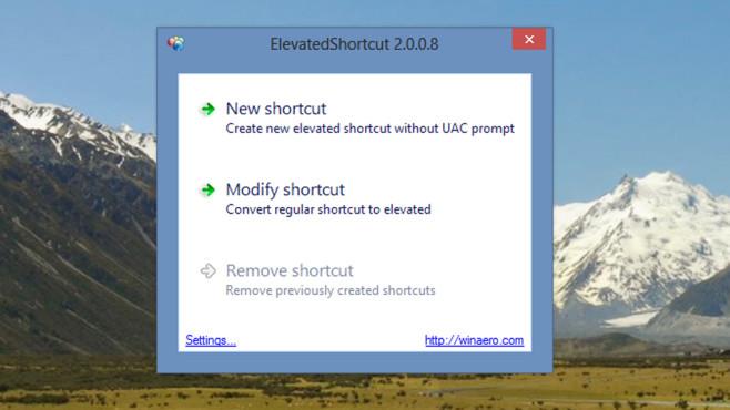 Benutzerkonten-Steuerung nervt: Elevated Shortcut ©COMPUTER BILD