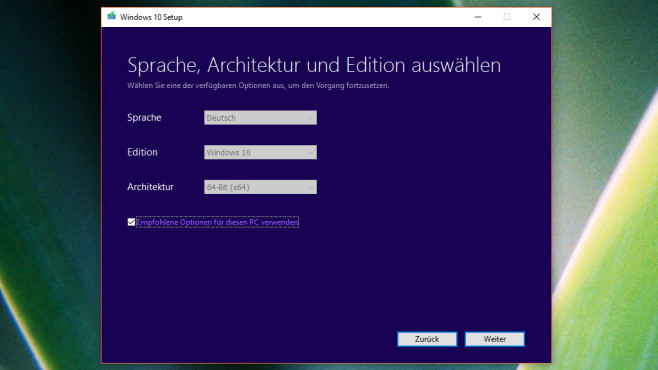 Windows-10-Update kommt nicht: Media Creation Tool © COMPUTER BILD