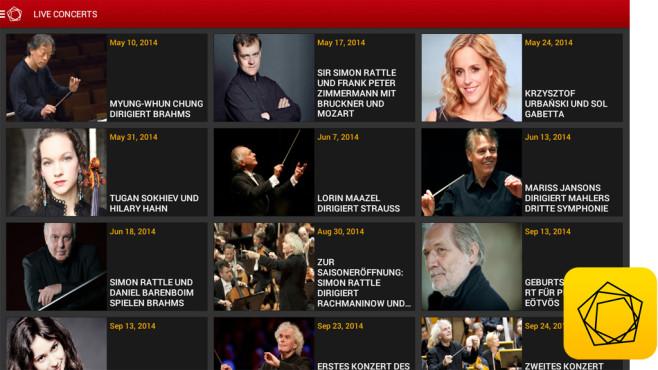 Digital Concert Hall ©Berlin Phil Media GmbH