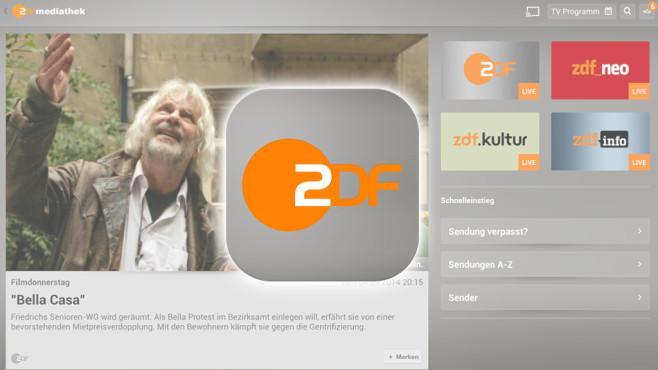 ps4 zdf app