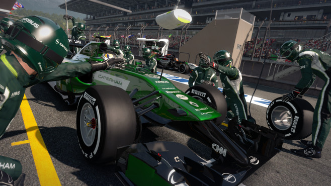 Rennspiel F1 2014: Caterham © Codemasters