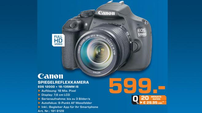 Canon EOS 1200D Kit 18-135 mm ©Saturn