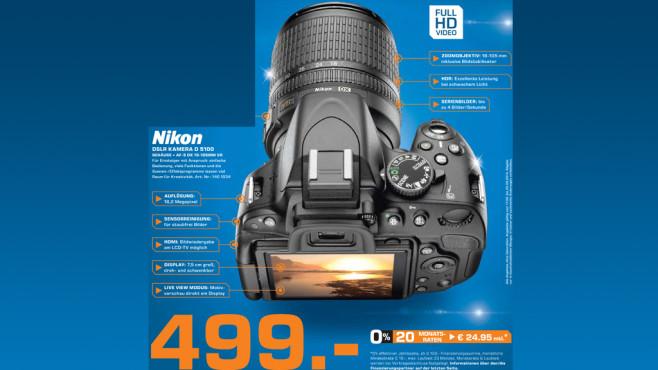 Nikon D5100 Kit 18-105 mm ©Saturn