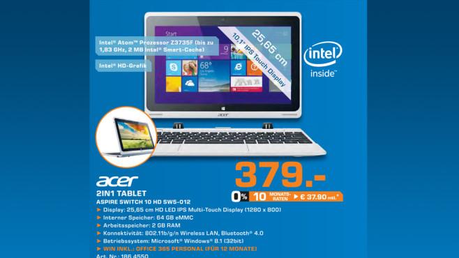 Acer Aspire Switch 10 ©Saturn