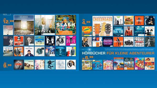 CDs und Hörbücher ©Saturn