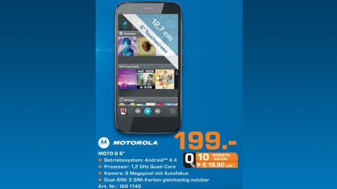 Motorola Moto G ©Saturn