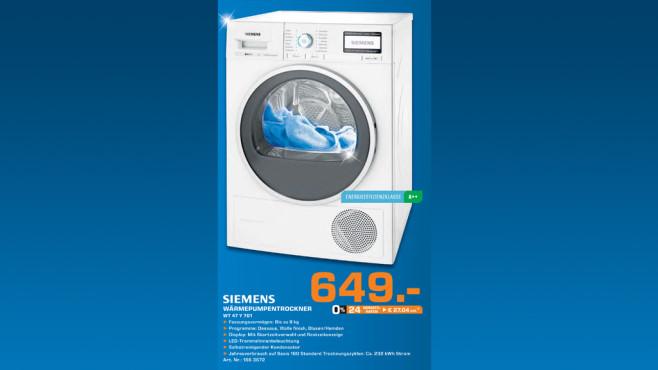 Siemens WT47Y701 ©Saturn