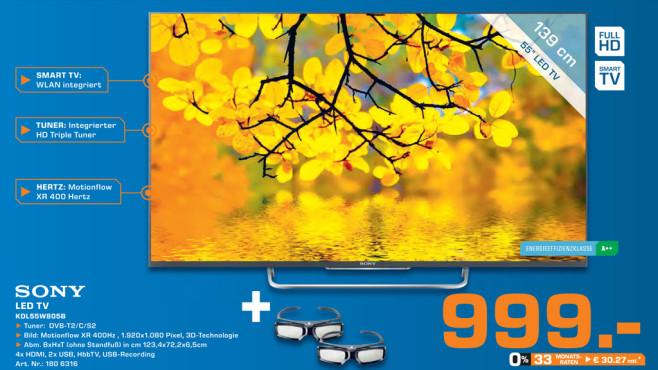 Sony KDL-55W805B ©Saturn