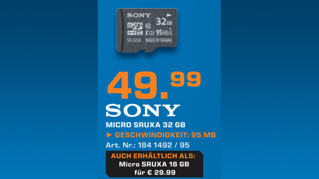 Sony SR-16UX ©Saturn