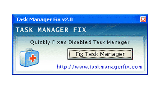 Task Manager Fix © COMPUTER BILD