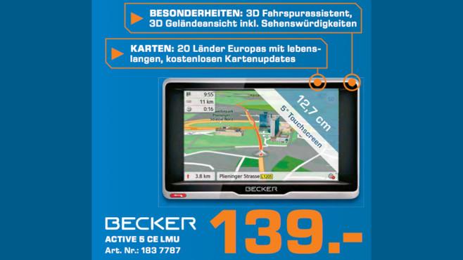 Becker Active.5 CE LMU ©Saturn