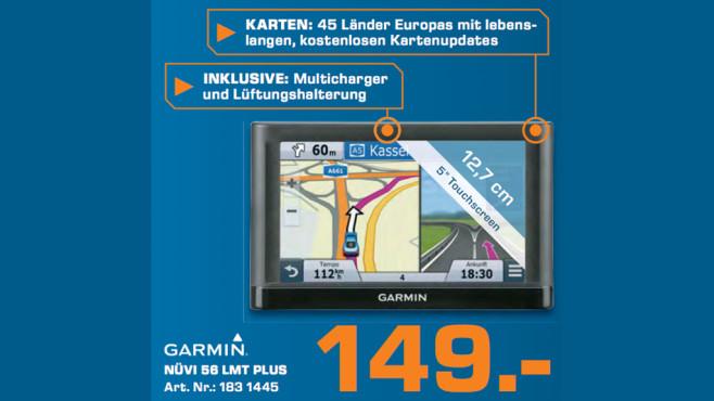 Garmin nüvi 56LMT Europa ©Saturn