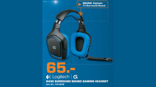 Logitech G430 ©Saturn