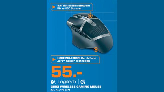 Logitech G602 ©Saturn