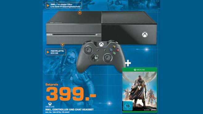 Microsoft Xbox One plus Destiny ©Saturn