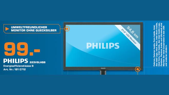 Philips 223V5LHSB ©Saturn