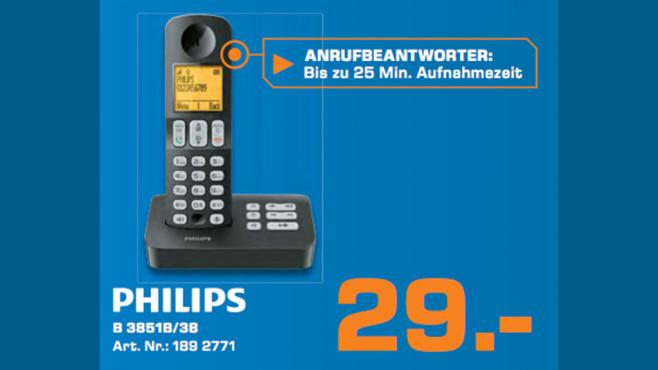 Philips B 3851B/38 ©Saturn