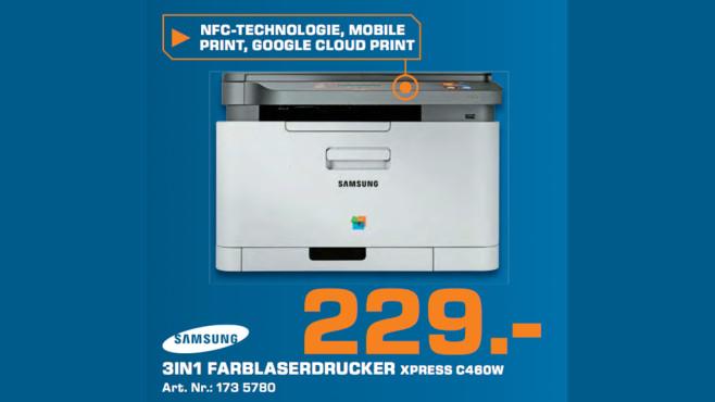 Samsung Xpress C460W ©Saturn