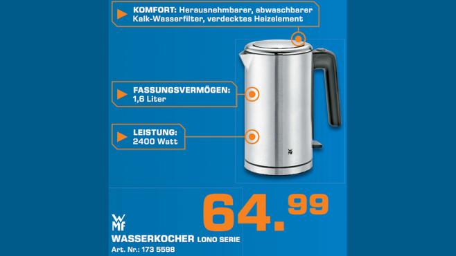 WMF Lono Wasserkocher ©Saturn