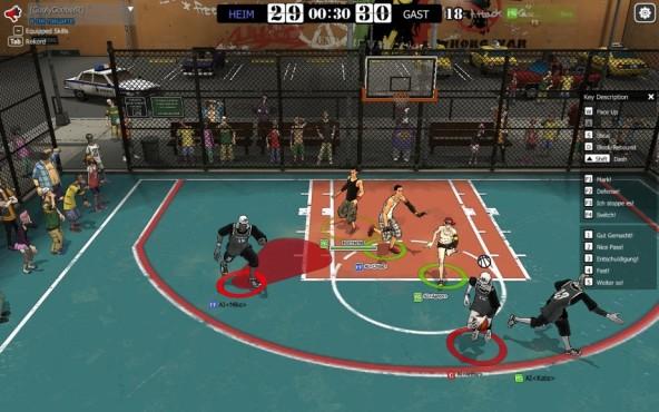 Platz : Freestyle 2: Street Basketball ©Joycity