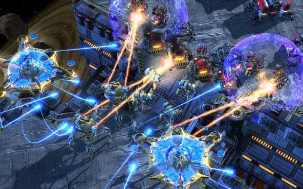Platz : StarCraft 2: Wings of Liberty ©Blizzard