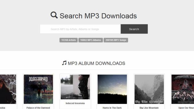 Gefährliche Musik-Portale: Mp3boo.com ©COMPUTER BILD