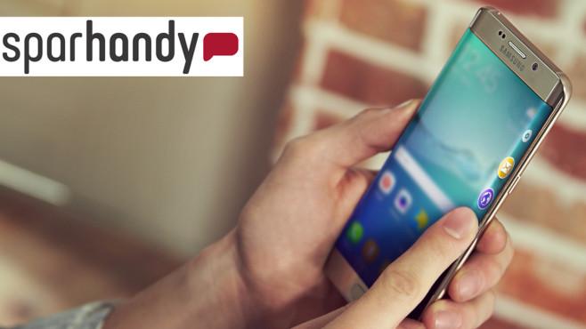 Samsung Galaxy S6 Edge+ im Schnäppchen-Angebot ©Sparhandy, Samsung
