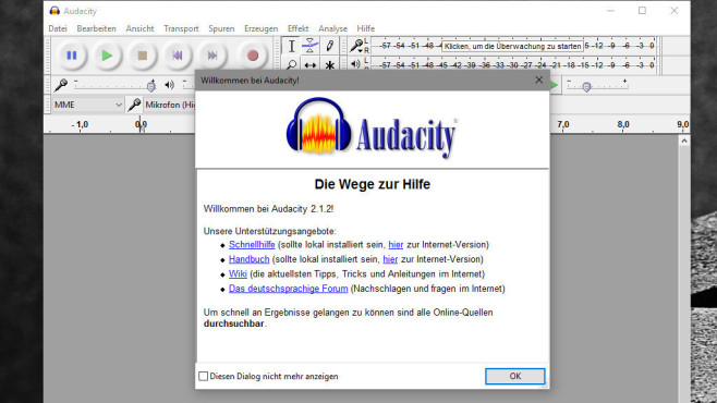 Audacity: Songs vielfältig anpassen ©COMPUTER BILD