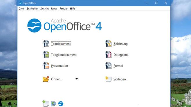 OpenOffice: Texte verfassen und mehr ©COMPUTER BILD