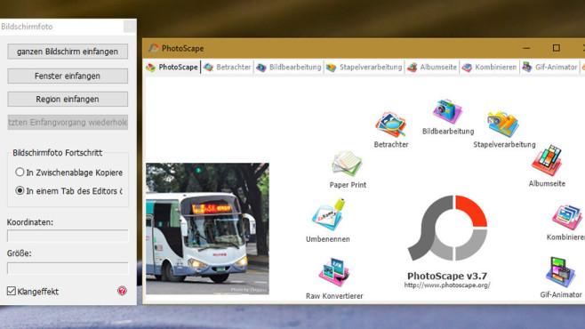 PhotoScape: Animierte GIFs erzeugen, Bilder verwalten ©COMPUTER BILD