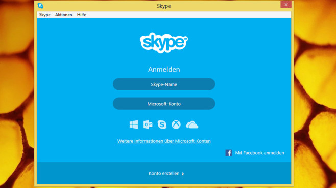 Skype: Umfangreiches Chat-Tool © COMPUTER BILD