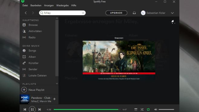 Spotify: Gratis-Musik anzapfen ©COMPUTER BILD