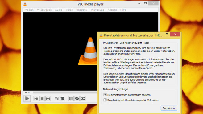 VLC Media Player: Audio- und Videodateien abspielen ©COMPUTER BILD