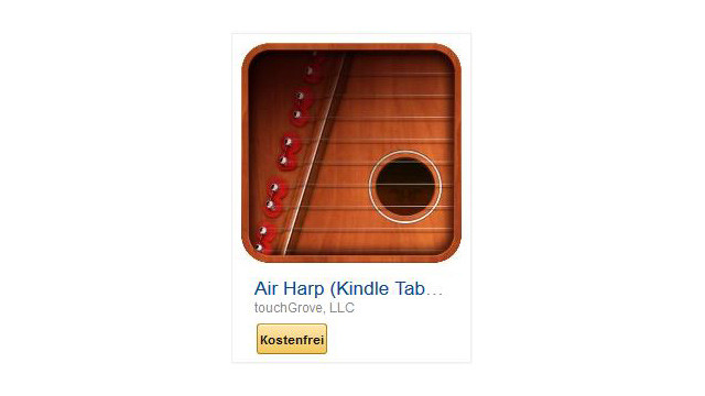 Air Harp (Kindle Tablet Edition) © touchGrove, LLC
