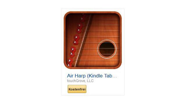 Air Harp (Kindle Tablet Edition) ©touchGrove, LLC
