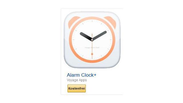 Alarm Clock+ ©Voyage Apps