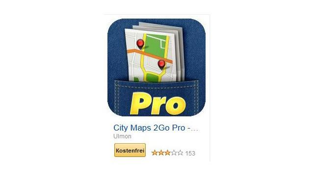 City Maps 2Go Pro - Offline-Karte und Reiseführer ©Ulmon