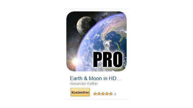 Earth & Moon in HD Gyro 3D PRO ©Alexander Kettler