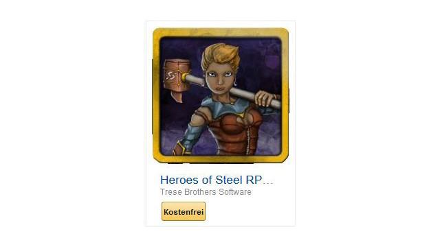 Heroes of Steel RPG Elite ©Trese Brothers Software