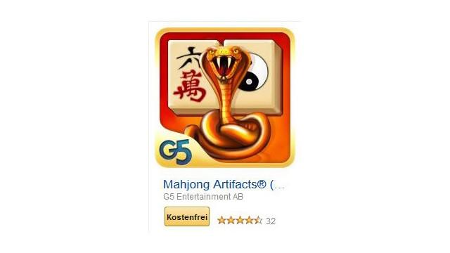 Mahjong Artifacts ©G5 Entertainment AB
