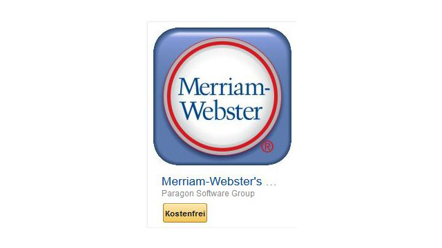 Merriam-Webster's Third New International Pro ©Paragon Software Group
