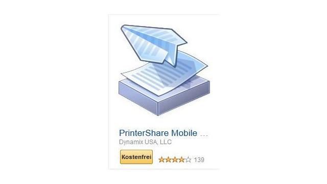 PrinterShare Mobile Print ©Dynamix USA, LLC