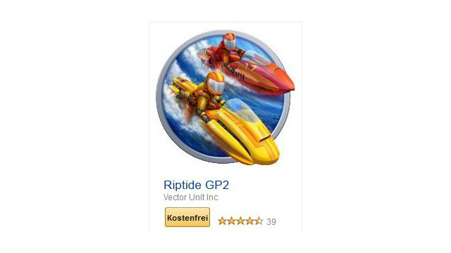 Riptide GP2 © Vector Unit Inc