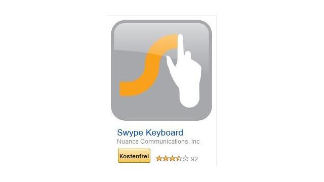 Swype Keyboard ©Nuance Communications, Inc