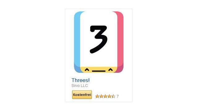 Threes! ©Sirvo LLC